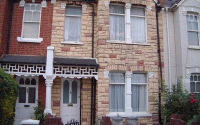 Stone Cladding Removal London House