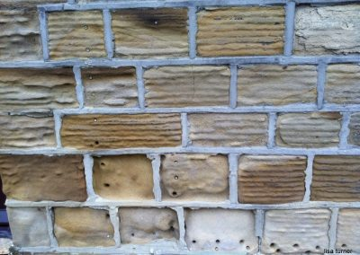 Cement pointing stone erosion