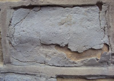 Stone Rendered with sand cement